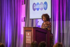 Keynote by poet Rita Dove